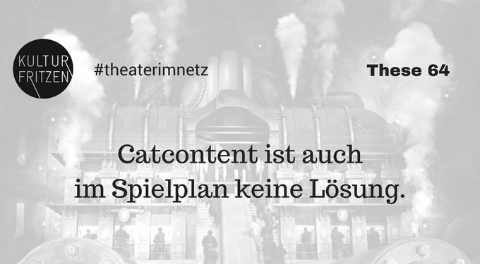 Zur Blogparade #TheaterImNetz