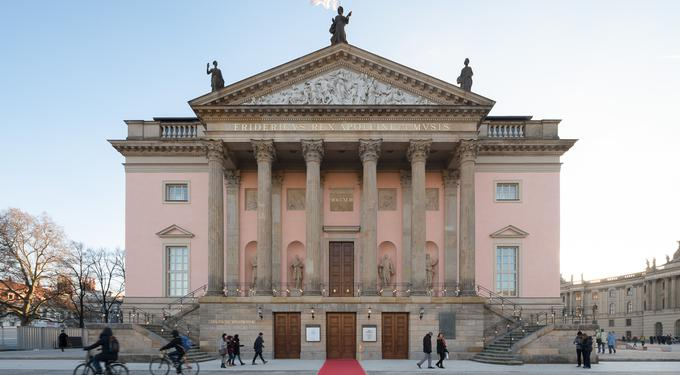 Bühne Staatsoper Unter Den Linden Berlin Bühnen