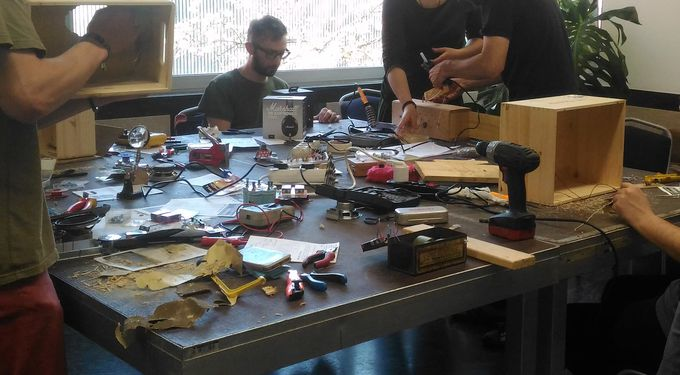 """Build that noise machine!"" - DIY noise sculpture installation workshop"