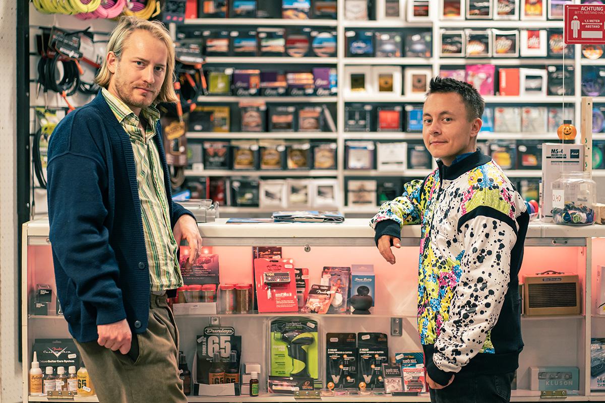 Das Musikgeschäft, Bastian Zimmermann and Neo Hülcker