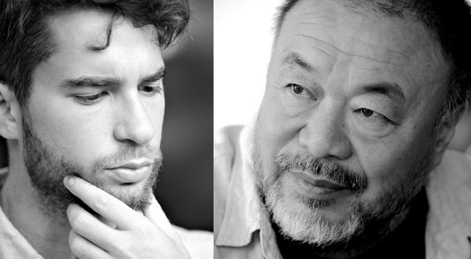 AI WEIWEI [CHINA/ D] IM GESPRÄCH MIT PATRICK KINGSLEY [GB]