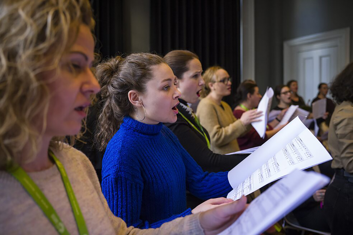 "Workshop ""Ode for All"" in Istanbul, Februar 2020"