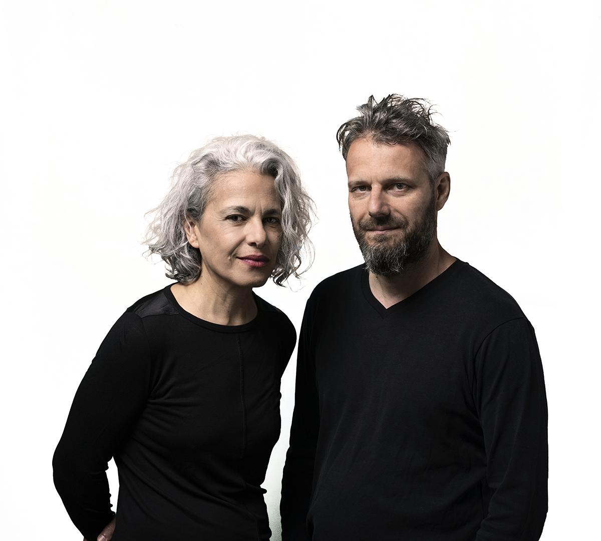 Kamilya Jubran und Werner Hasler