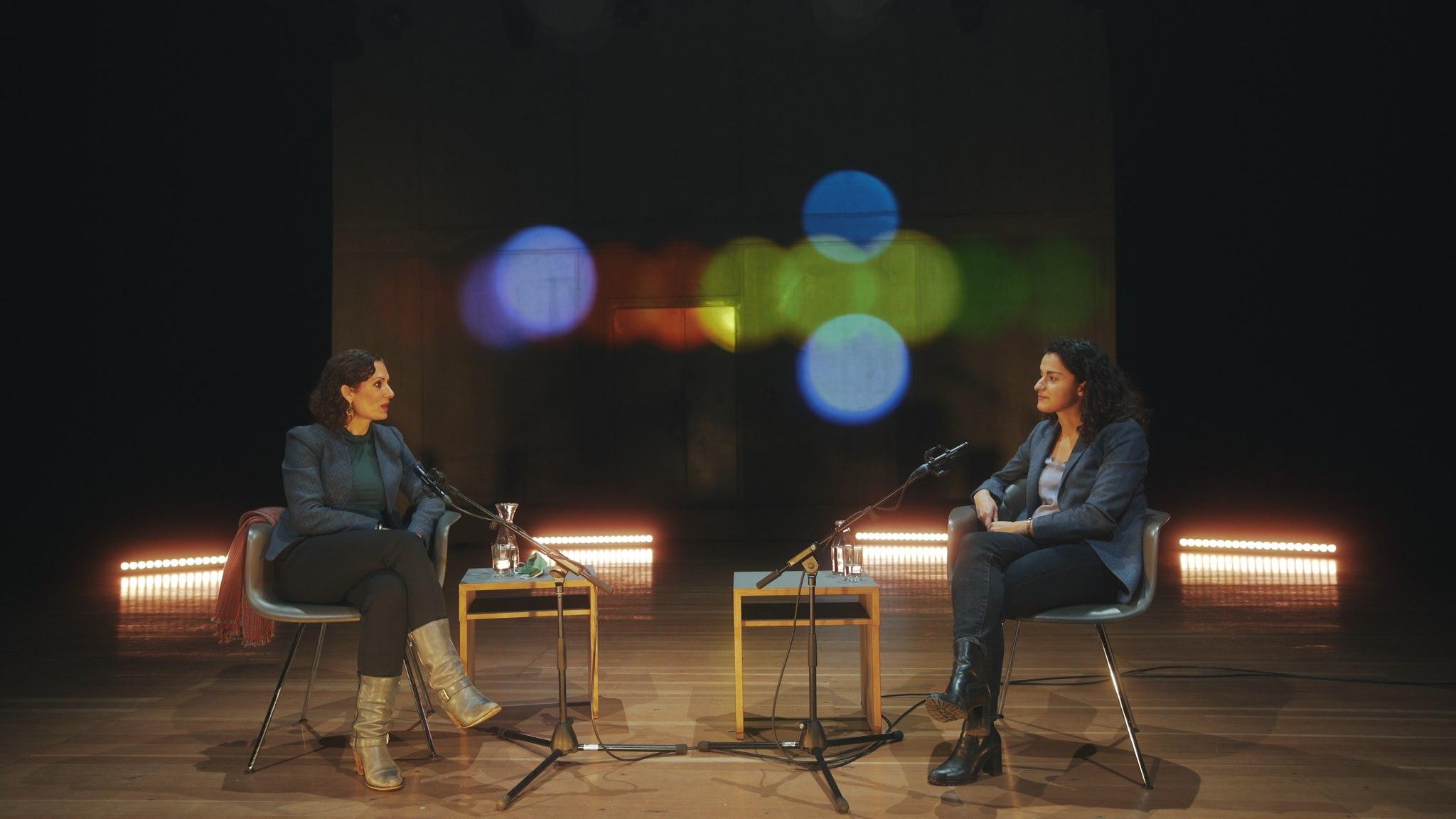 Dr. Naika Foroutan and Esra Küçük