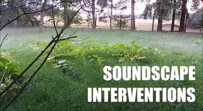 Soundscape Interventions