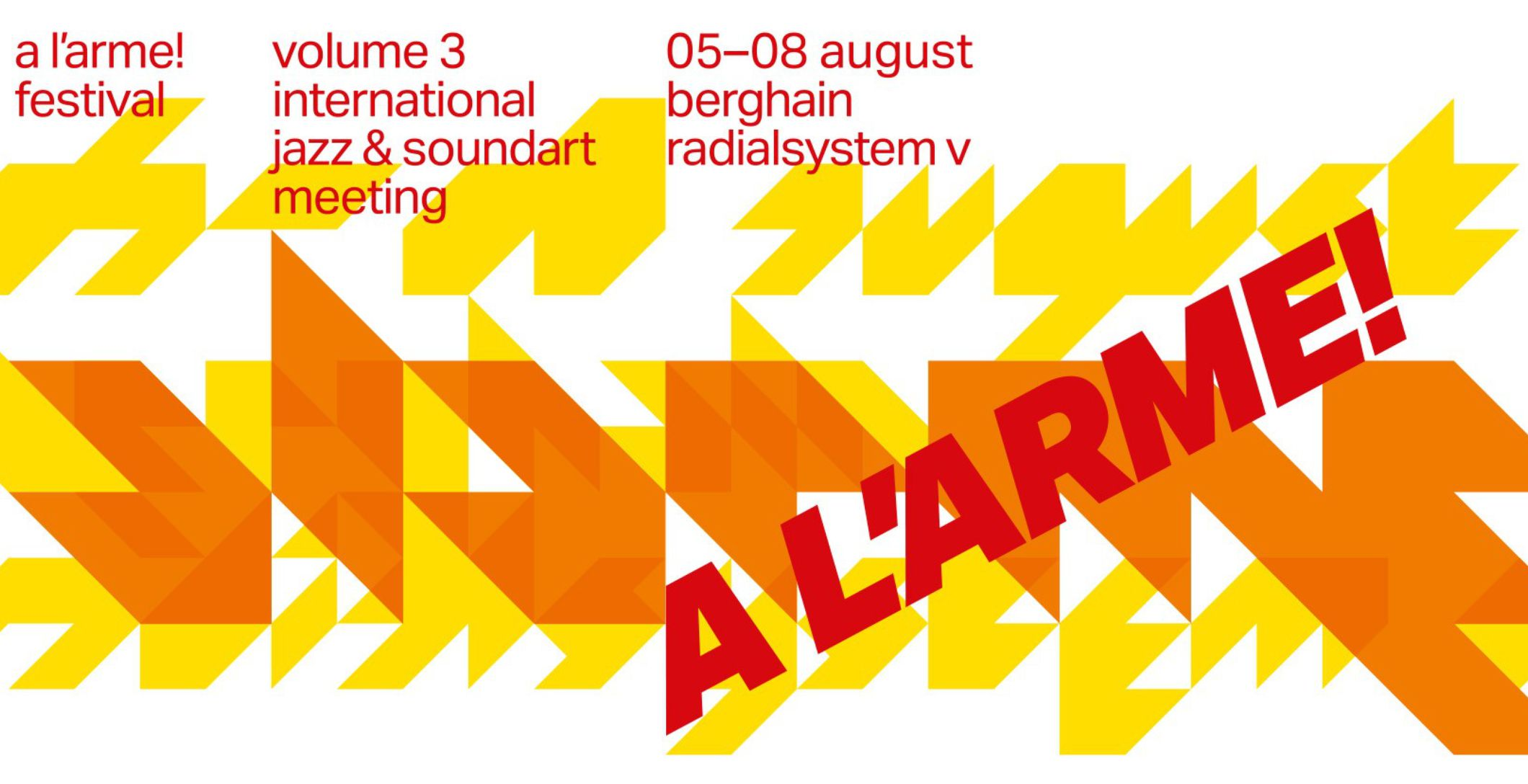 A L'ARME! - International Jazz & Soundart Meeting